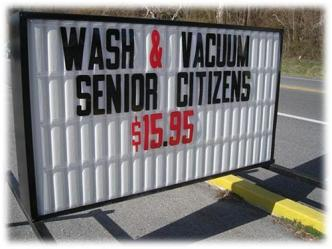 Wash & Vaccum Sr. Citizens
