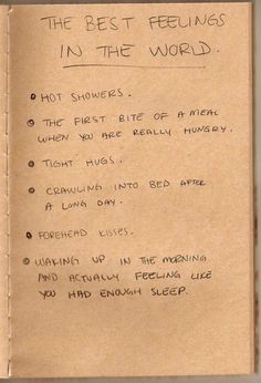 best feelings in the world!
